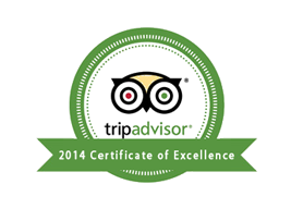 tripadvisor 2014 Certificate of Excellence